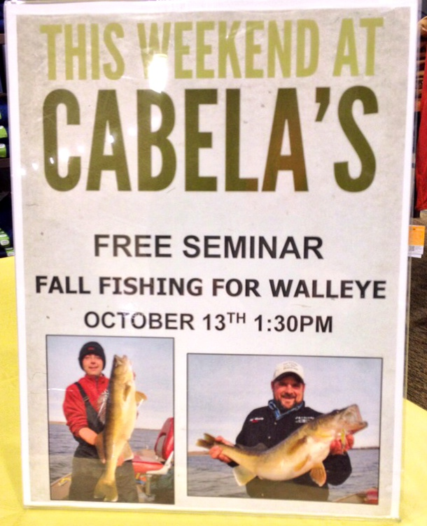 Great day at Cabela's Regina